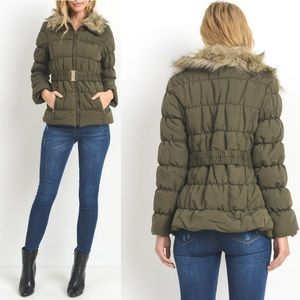 Jackets & Blazers - IN STOCK! Warm Lady Anorak Coat With Faux Fur